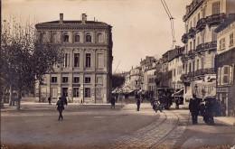 CPA - 06 - CANNES - Hôtel De Ville - Central Octroi - Carte Photo - RARE !!!!! - Cannes