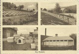 Quenast - Usine Waroux & Simon - Fabrication  De Produits En Béton -Réalisations ( Voir Verso ) - Rebecq