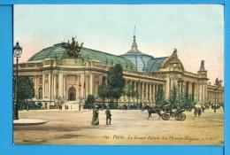 CP, 75, PARIS, Le Grand Palais Des Champs-Elysées, Vierge - France