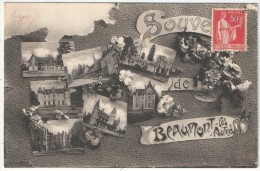 28 - BEAUMONT-LES-AUTELS - Souvenir De - Edition Chauflroy - Altri Comuni
