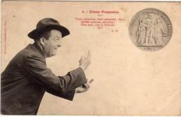 BERGERET- Viens Poupoule - Poeme De A.G. - Piéce De Monnaie ..  (69857) - Monnaies (représentations)