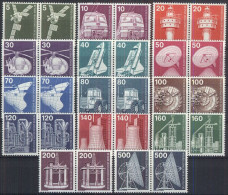 BERLIN 1975 MI-NR. 494/07 Waagerechte Paare ** MNH (39) - Ungebraucht