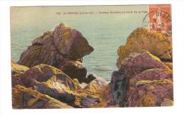 44 LE CROISIC / NOUNOURS - LE ROCHER De L'OURS / CPA Chapeau N° 720 Curieux Rocher / Circulée / Bon Etat - Le Croisic
