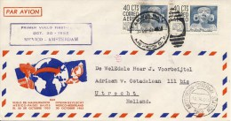 Eerste KLM Vlucht Mexico - Amsterdam (30 Oktober 1952) - Mexico