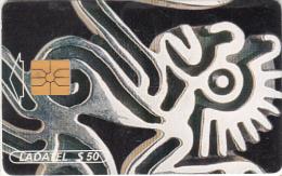 MEXICO - Plateria Prehispanica/Dije Mono(2/6), chip GEM1, 02/97, used