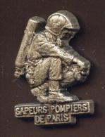 """  Sapeurs Pompiers De PARIS Prépa. ""  Métal   Vert Pg15 - Brandweerman"