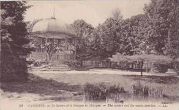 France Langres Le Square et le Kiosque de Musique