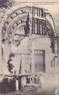 France Avignon Porte d'entree de la Chapelle Haute du Consistoir