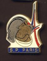 """""""  Sapeurs Pompiers De PARIS  """"  Arthus Bertrand   Vert Pg15 - Bomberos"""