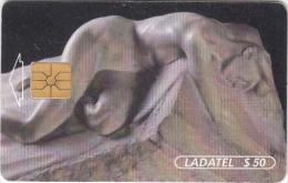 MEXICO - Escultura/El Sepulcro De Julio Ruelas(4/6), Chip GEM1.1, 06/96, Used - Mexico