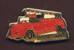 """""""  Sapeurs Pompiers De LIBERCOURT """"    Vert Pg15 - Brandweerman"""