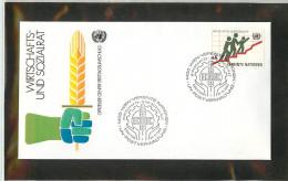 ONU - UNITED NATIONS -  WIEN  -  RAMOSCELLO DI OLIVO    Simbolo Di Pace - Vegetazione