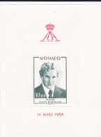 MONACO - BLOC N° 16 ** - COTE YVERT = 12 EUROS - - Blocs