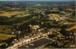 Mortagne Sur Gironde Vue Generale Aerienne - Autres Communes