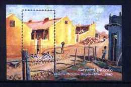 SOUTH AFRICA, 1996, Mint Never Hinged Block, Nr. 43, Gerard Sekoto, F3831 - Blokken & Velletjes