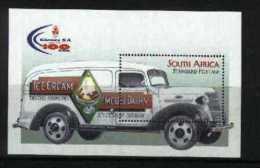 SOUTH AFRICA, 1998, Mint Never Hinged Block, Nr. 72, Clover Centenary, F3824 - Blokken & Velletjes