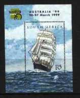 SOUTH AFRICA, 1999, Mint Never Hinged Block, Nr. 74, The Lawhill, F3842 - Blokken & Velletjes