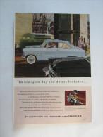 Zeitungsseite  Reklame Ford Taunus - Ansichtskarten