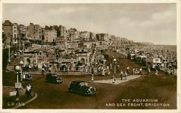 Royaume-Uni - Angleterre - Sussex - Brighton - The Aquarium And Sea Front - Voitures - Automobile - Autobus - état - Brighton