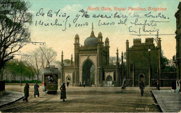 Royaume-Uni - Angleterre - Sussex - Brighton - North Gate - Royal Pavilion - Chemins De Fer - Tramways - Tramway - état - Brighton
