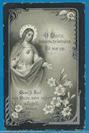 Bidprentje Van Emma Blondeel - St Michiels - St Jan-in-Eremo - 1867 - 1917 - Images Religieuses