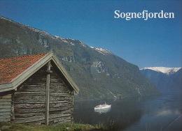 Pk Norge:191:Aurlandsfjord, Sognefjord - Norway