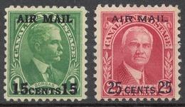 Canal Zone 1929 Mi# 80-81* - Zona Del Canal