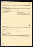 ALLEMAGNE VERS 1949, DOCUMENT VIERGE D´ AUTORISATION DE TRANSIT A TRAVERS LA DDR. (4C23) - Documents Historiques