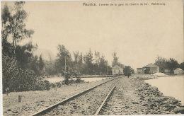 Maurice Entrée De La Gare Du Chemin De Fer Mahebourg Train Edit The Oriental Tobacco - Maurice
