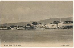Port Louis Vue Du Port Edit Gentil 38 Guillemin Stamped To Beau Bassin 1910 - Maurice
