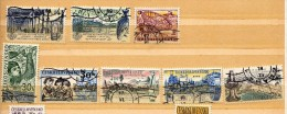 Tchecoslovaquie Y&t N° 1145.1146.1137.1226.1236.1172.1171.1180...o B Li Térés - Gebruikt
