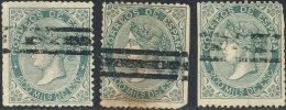 Espagne 1868. ~ YT 100 Par 3 Annulé - 200 M. Isabelle II - 1850-68 Königreich: Isabella II.