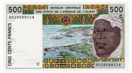 WEST AFRICAN STATES BURKINA FASO 500 FRANCS 1995 Pick 310Ce Unc - West-Afrikaanse Staten