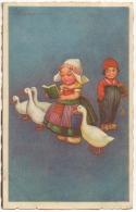 Illustrateur. E.Colombo. Enfants Et Canards. - Colombo, E.