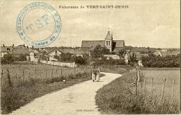 Panorama De Vert St Denis Cesson Tampon Du Capitaine Commandant Centre RSF - France