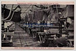 Etablissements DENEUX Frères, Fabrication Du Linge De Table, Usine D'Hallencourt (80), Dans Le Tissage Mécanique, Neuve - Industry
