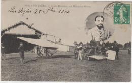 Nos Aviateurs - Frantz Drouhet, Sur Monoplan Blériot - Airmen, Fliers
