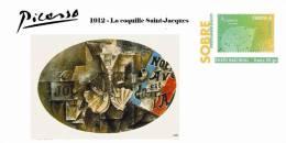 Spain 2013 - Picasso Collection Prepaid Cover - 1912 La Coquille Saint-Jacques - 1931-....