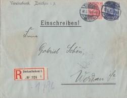 DR R-Brief Mif Minr.86I, 87I Zwickau 18.6.10 - Deutschland