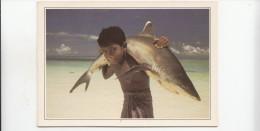 BF17841 Maldives Islands  Whithe Tipped Shark Types Child  Front/back Image - Maldives