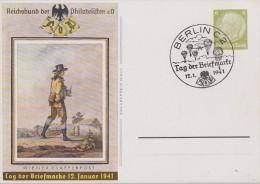 DR Ganzsache Minr.P241 SST Berlin 12.1.41 - Deutschland