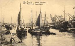 BELGIQUE - ANVERS - ANTWERPEN - Kattendyckdock - Bassin Du Kattendyck. - Antwerpen