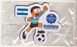 DORAEMON - BRASIL 2014 FOTBALL WORLD CUP FRIDGE MAGNET ARGENTINA - SEALED - Characters