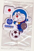 DORAEMON - BRASIL 2014 FOTBALL WORLD CUP FRIDGE MAGNET JAPAN - SEALED - Characters