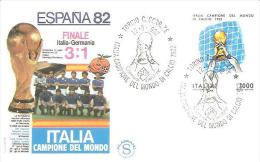 75621) F.D.C.ITALIA CAMPIONE DEL MONDO 1982 FINALE ITALIA GERMANIA - FDC