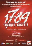 1789 - Les Amants De La Bastille - 2012 - Reclame