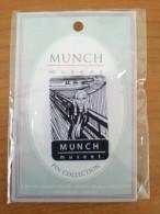 MUNCH SCREAM (SKRIK) GENUINE OFFICIAL PIN MUNCH MUSEM, OSLO, NORWAY NEW SEALED - Badges
