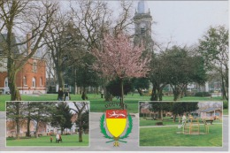 62 - DOUVRIN - Le Parc Public Jardin De La Paix - Blason De La Ville - 2 Scans - - Frankrijk
