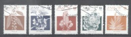 Sahara OCC R.A.S.D 1992 Flowers, Used AE.089 - Viñetas De Fantasía