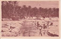 CPA Gabès - Laveuses A L'Oued De Djara (6411) - Tunesien
